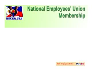 National Employees' Union Membership