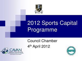 2012 Sports Capital Programme