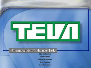 Pharmaceutical Industries Ltd.