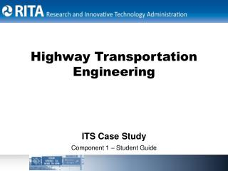 Highway Transportation Engineering