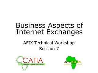 Business Aspects of Internet Exchanges