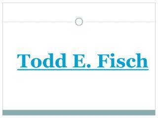 Todd E Fisch
