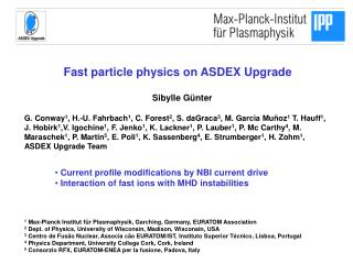 Fast particle physics on ASDEX Upgrade