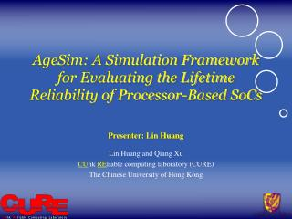 AgeSim: A Simulation Framework for Evaluating the Lifetime Reliability of Processor-Based SoCs