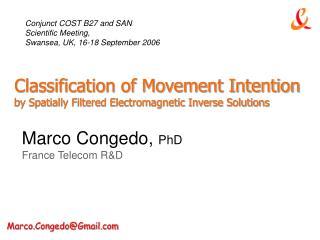 Marco Congedo,  PhD France Telecom R&D