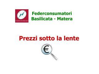 Federconsumatori Basilicata - Matera