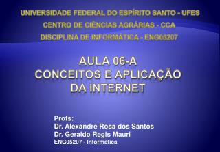 Aula 06-a Conceitos e aplicação da Internet