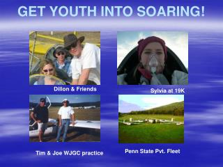 GET YOUTH INTO SOARING!