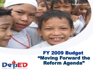 """Moving Forward the Reform Agenda"""