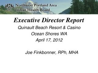 Executive Director Report