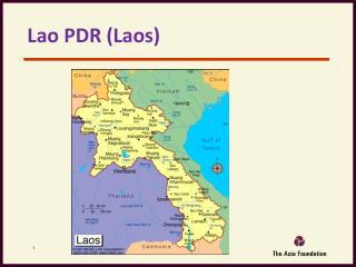 Lao PDR (Laos)