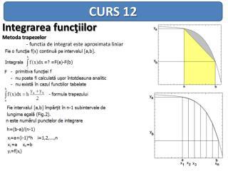CURS 12