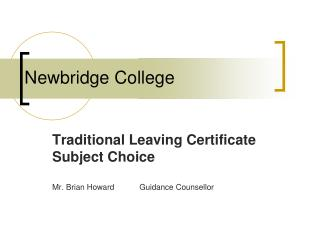 Newbridge College