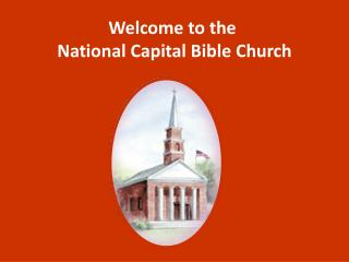 Welcome to the  National Capital Bible Church