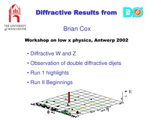 Diffractive Results from