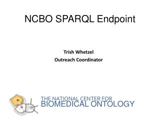 NCBO SPARQL Endpoint