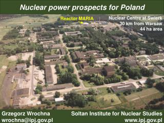 Nuclear power prospects for Poland