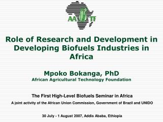 The First High-Level Biofuels Seminar in Africa