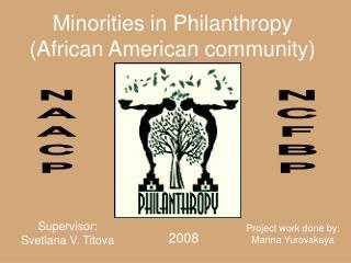 Minorities in Philanthropy (African American community)
