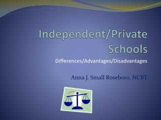 Independent/Private Schools