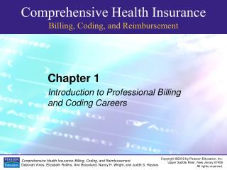 Chapter 1 Introduction to Professional Billing and Coding Careers
