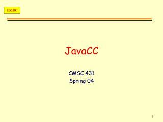 JavaCC