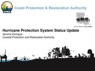 Coast Protection & Restoration Authority