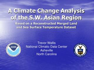 A Climate Change Analysis of the S.W. Asian Region