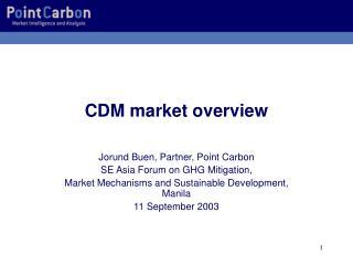 CDM market overview