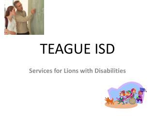 TEAGUE ISD