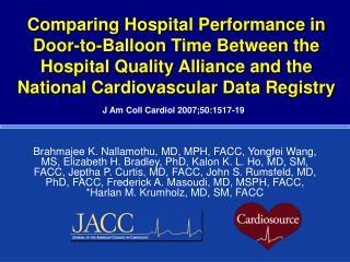 J Am Coll Cardiol 2007;50:1517-19