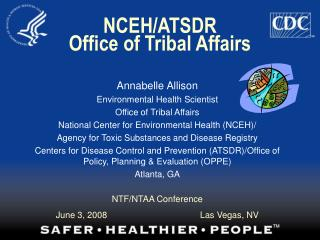 NCEH/ATSDR Office of Tribal Affairs