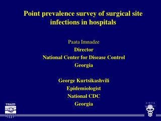 Point prevalence survey of surgical site infections in hospitals