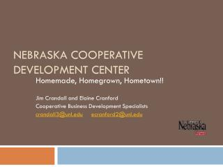 Nebraska Cooperative Development Center