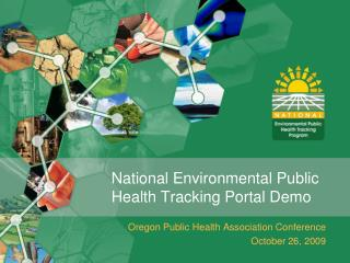 National Environmental Public Health Tracking Portal Demo