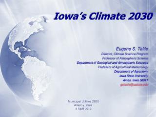 Iowa's Climate 2030
