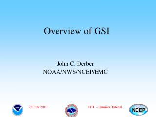 Overview of GSI