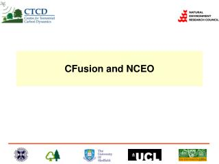 CFusion and NCEO