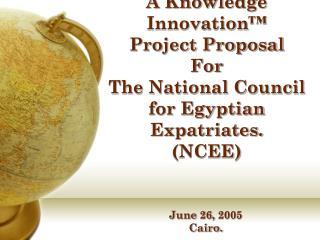 June 26, 2005 Cairo.