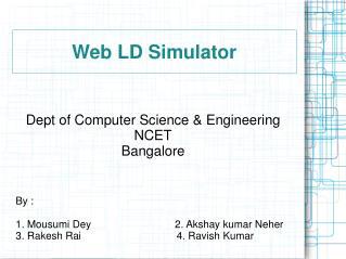 Web LD Simulator