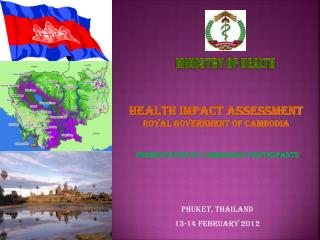 Presentation by Cambodian Participants