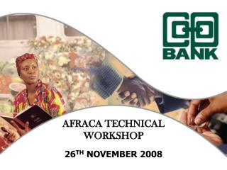 AFRACA TECHNICAL WORKSHOP