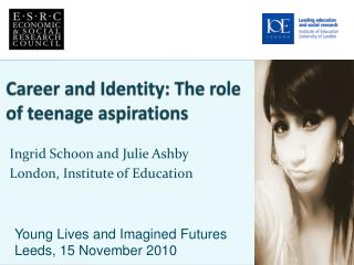 Career and Identity: The role of teenage aspirations