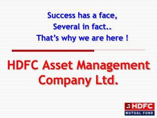 HDFC Asset Management Company Ltd.