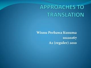 Newmark s  Semantic  Communicative Translation