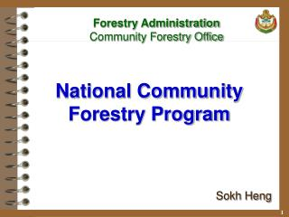 National Community Forestry Program