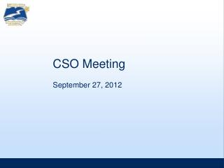 CSO Meeting
