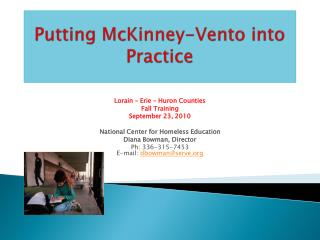 Putting McKinney-Vento into Practice