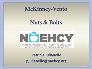 McKinney-Vento Nuts & Bolts