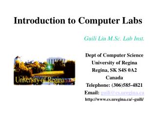 Introduction to Computer Labs
